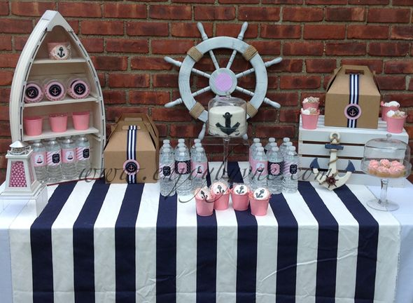 Preppy Nautical Collection - SweetPeachPaperie.com