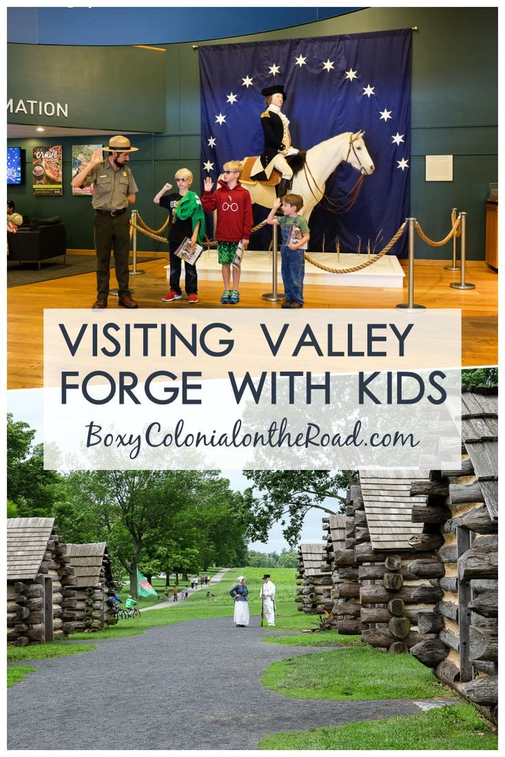 valley forge for kids