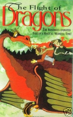 The Flight of Dragons. 1982 animated film produced by Jules Bass and Arthur Rankin, Jr. and loosely combining the speculative natural history book of the same name (1979) by Peter Dickinson with the novel The Dragon and the George (1976) by Gordon R. Dickson
