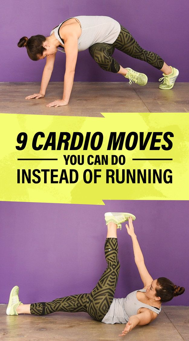 9 Calorie-Burning Cardio Exercises For Anyone Who Hates Running - BuzzFeed News