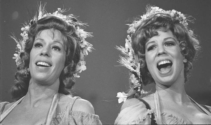 Although she was better known as an actress and comedian