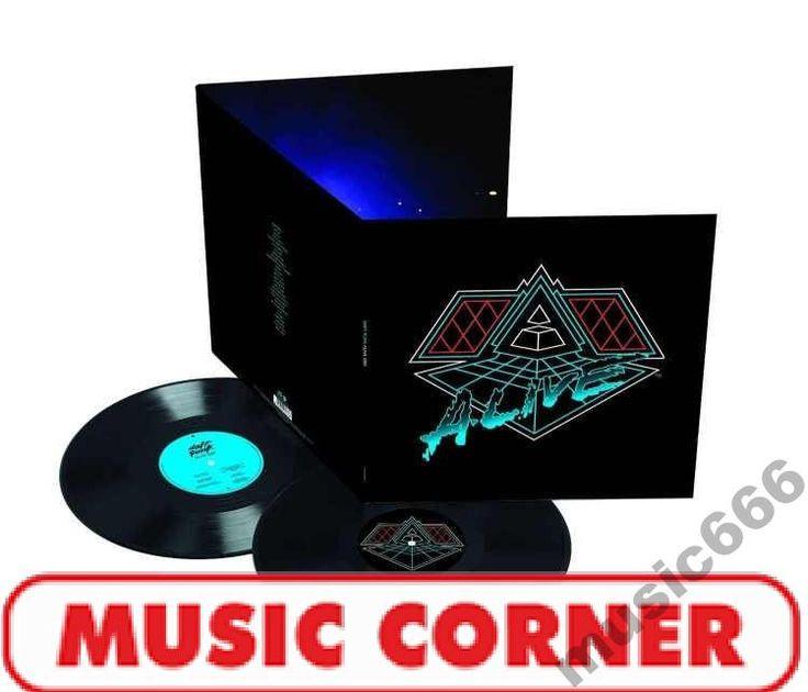 DAFT PUNK  Vinyl  ALIVE 2007  LP  LIMITED@