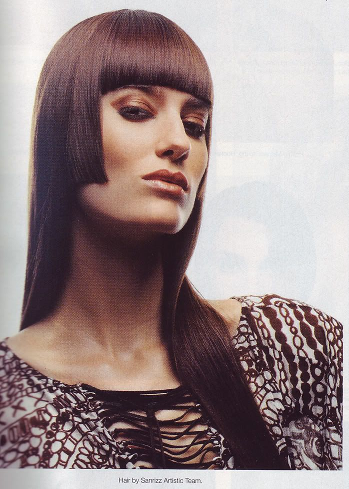 Hime Cut Hairstyle | Long Hairstyles | Pinterest