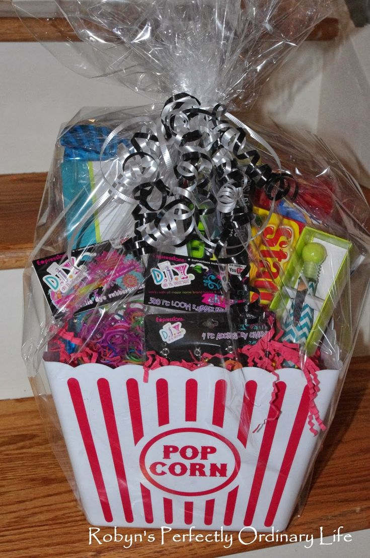 25 Best Ideas About Girl Gift Baskets On Pinterest Gift