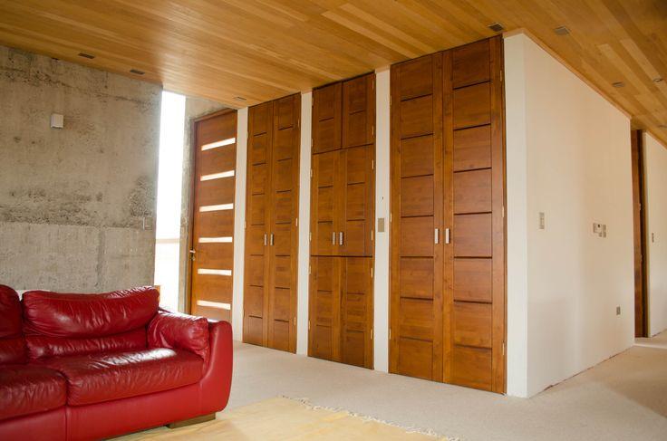 10 best puertas de lenga images on pinterest wood doors for Puertas interiores modernas