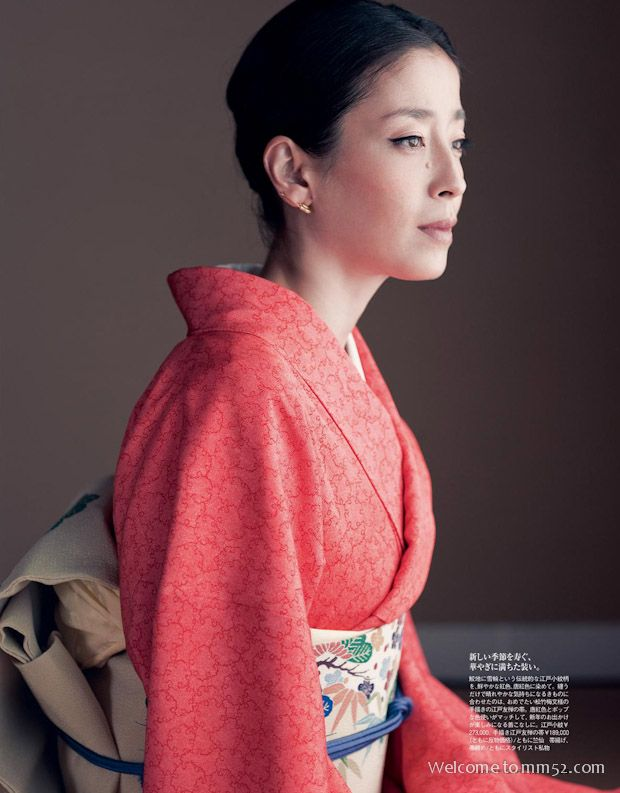 Rie Miyazawa's Photo - mm52.com #着物 #和服 #着物コーディネート