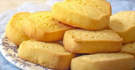 Рецепт невероятно простого песочного печенья, которое готовится всего из трех ингредиентов