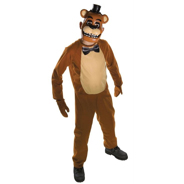 Fnf Freddy Costume Child Large