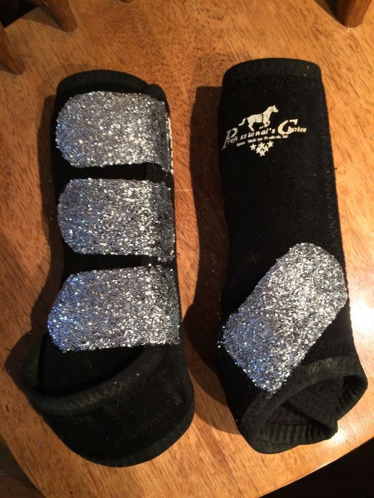 Custom Made Glitter Bling Professional's Choice Elite SMB Sport Boots Size Med #ProfessionalsChoice