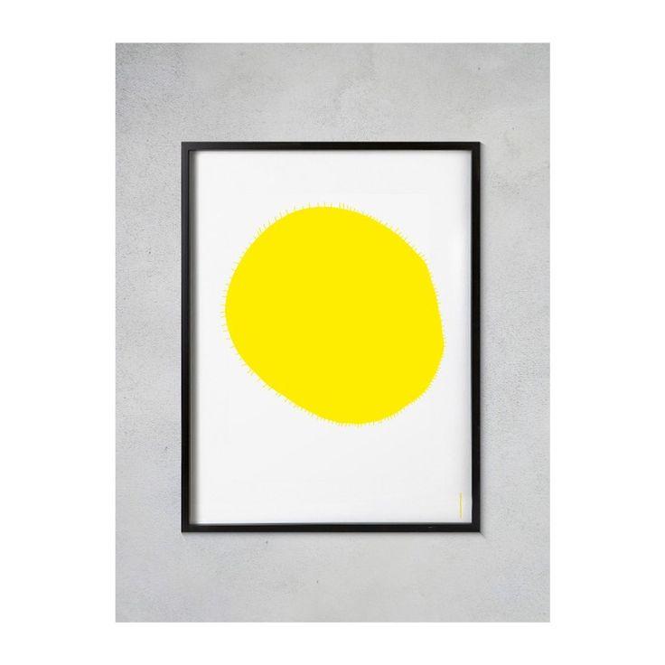 Slunce - autorský plakát A2 - Popout