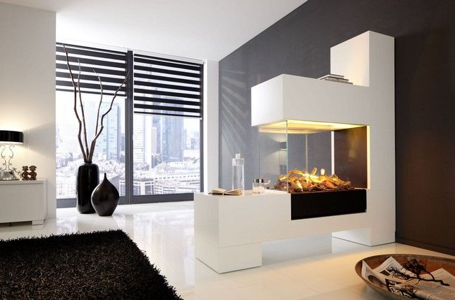 double-sided -fireplace-lkjh - Transform your Spacious Space with a Double-Sided Fireplace