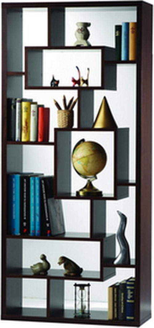 modernrugs.com Contemporary Modern Abstract Bookcase