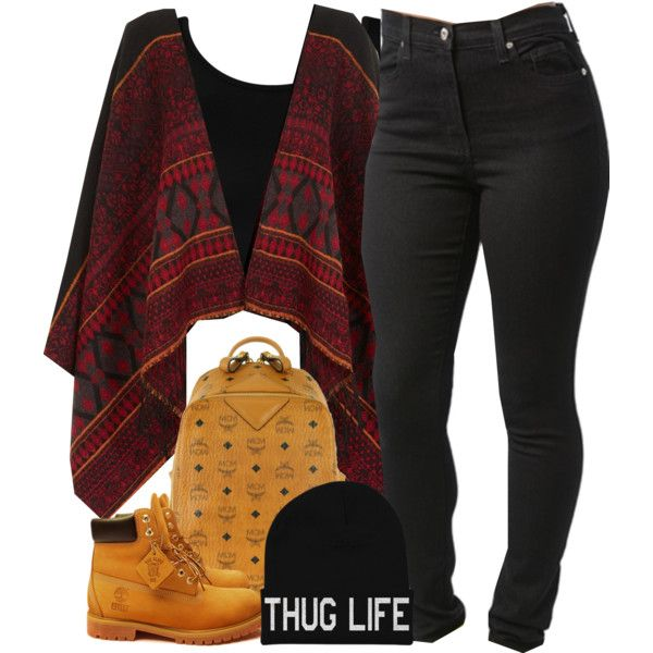 A fashion look from September 2014 featuring MCM backpacks and Timberland boots. Browse and shop related looks.