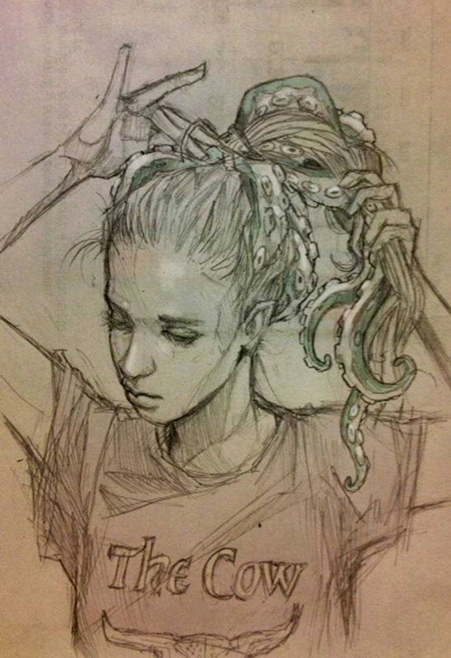 Chiara Bautista: https://www.facebook.com/chiarabautistaartwork   Look out for her awesome sketches.