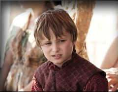 Tommen Baratheon,  Callum Wharry, an Irish child.