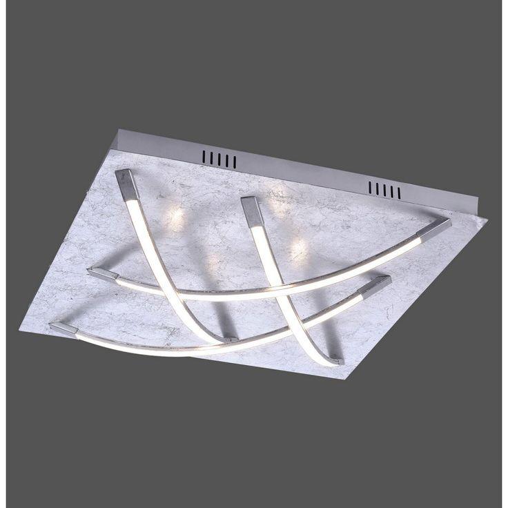 XXXL LED-DECKENLEUCHTE, Grau Jetzt bestellen unter: https://moebel.ladendirekt.de/lampen/deckenleuchten/deckenlampen/?uid=d2eab1be-e287-5673-9a1e-2c0531d44f85&utm_source=pinterest&utm_medium=pin&utm_campaign=boards #deckenleuchten #lampen #deckenlampen