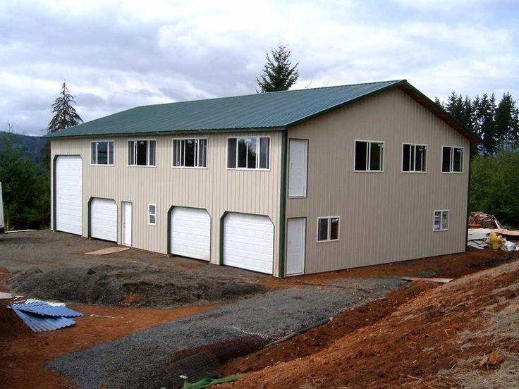 Pole Barn Residential Homes New House Ideas Pinterest