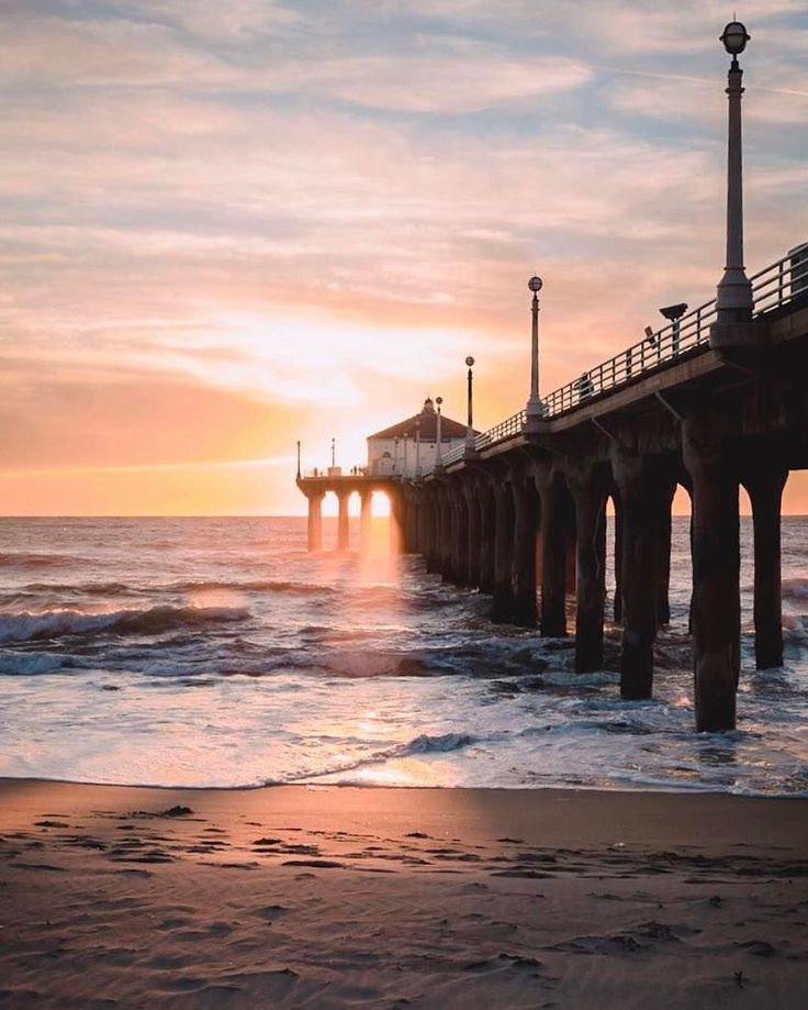Peaceful Places In Nj: Best 25+ Manhattan Beach California Ideas On Pinterest