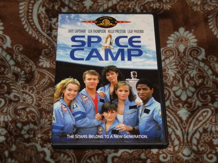 Space Camp (DVD, 2004) Rare OOP HTF MGM Kate Capshaw/Tom Skerritt Family SciFi!