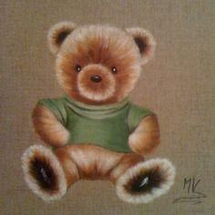 Peinture originale, tableau de décoration style rétro, pour chambre d'enfants ou collectionneurs