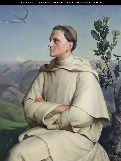 Henri Lacordaire 1802-61 at Sorreze - Louis Janmot