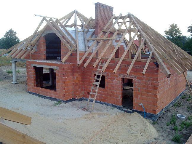 Więźba dachowa Projekt Julka #dach #więźba #budowa