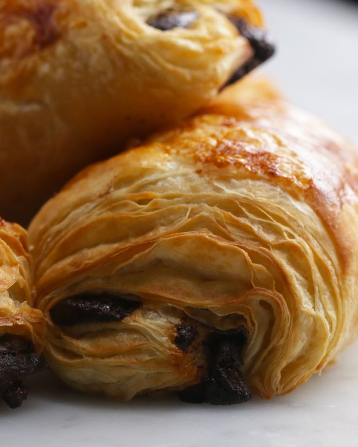 Homemade Chocolate Croissants (Pain Au Chocolate) Recipe by Tasty