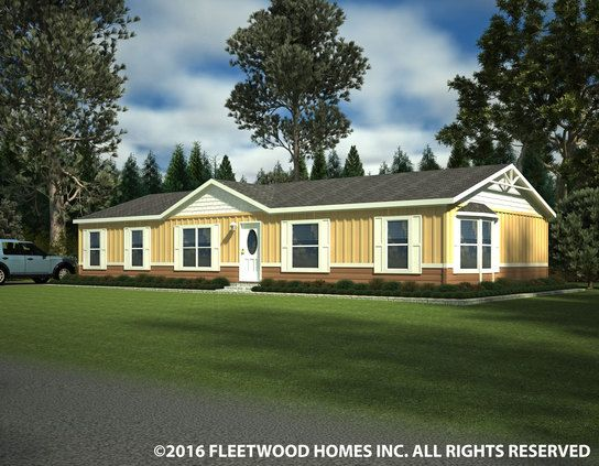 Angola model home | Factory Expo Outlet Center has a variety of brand new manufactured homes and mobile homes for sale at an unbeatable value. Call us today! 1-800-897-4321