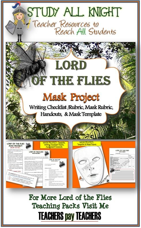 In Chapter 4 of Lord of the Flies, what is the significance of Jack's mask?