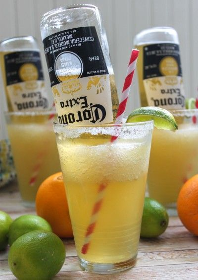 Frosty Mexican Bulldog Margarita - this looks incredible, definitely serving this at the next girls night.