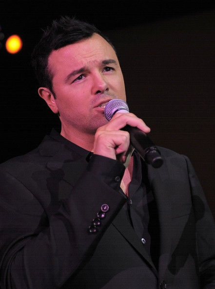 Gotta love a handsome man in a black on black suit singing some classics. Oh, Seth MacFarlane.