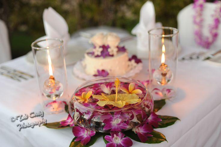 Hyatt Maui Wedding Oceanside Dinner Amazing Set Up Adorned With Orchids For A Destination In