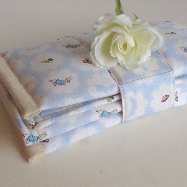 Peter Rabbit Gift Set - Nappy Clutch, Changing Mat and FREE Wash Cloth