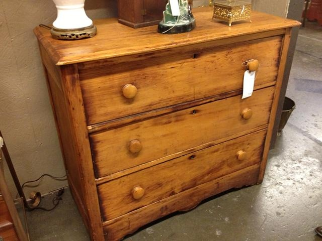 Antique Pine Chest Of Drawers | Antique Furniture .