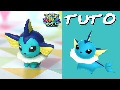 Tuto Fimo | Aquali / Vaporeon (de Pokémon Rumble World)