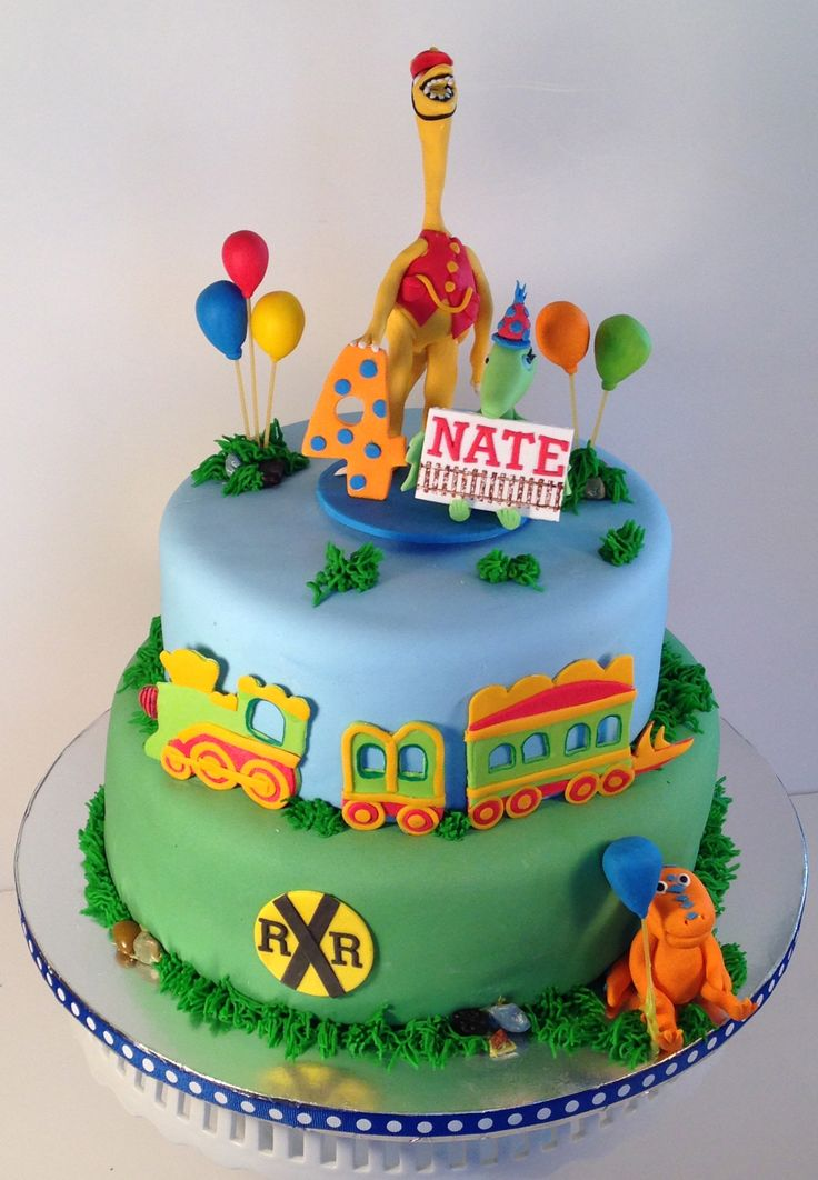 D Train Cake Ideas