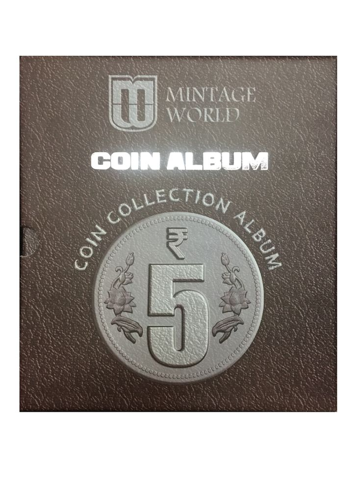 Don't wait, just shop now this Commemorative Five Rupees Coin Collection Album from Mintage World at just Rs. 500!