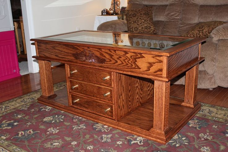 1000 ideas about shadow box coffee table on pinterest for How to build a coffee table display case