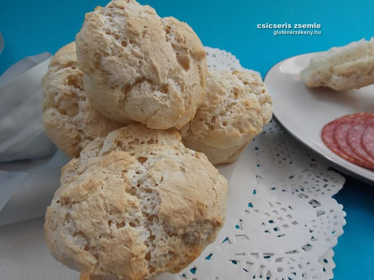 Csicseris gluténmentes zsemle Egy jó gluténmentes zsemle széleskörűen felhasználható a háztartásban. Reggelire, vacsorára szendvicsek készítésére, tízóraihoz de kenyér helyett is fogyaszthatjuk.