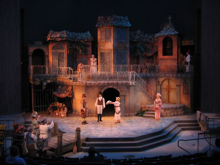 THE COMEDY OF ERRORS - SCENIC DESIGNS - michelleney