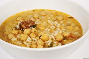 Csicseriborsó leves ~ Receptműves