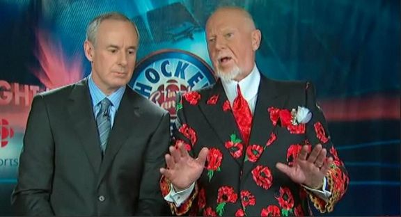 Don Cherry & Ron MacLean