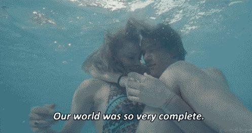 our world was so complete love love quotes animations quotes relationships couples animated