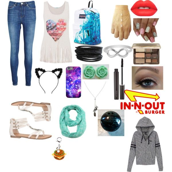 outfit for wattpad by jtmismybae1327 on Polyvore featuring polyvore fashion style Victoria's Secret PINK maurices Zoe Karssen JanSport Banana Republic Pieces Jewel Exclusive House of Holland Too Faced Cosmetics Laura Mercier Lime Crime