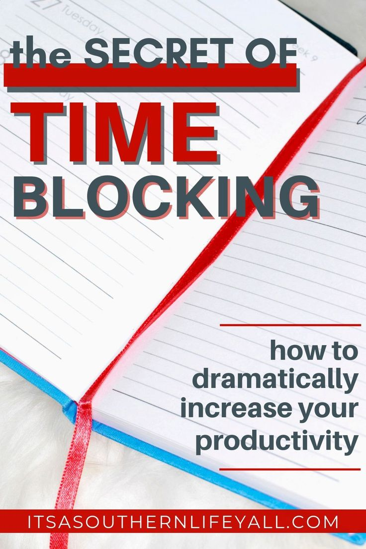 Manage your day with Time Blocking