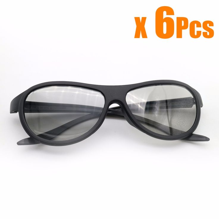 >> Click to Buy << 6pcs/lot Replacement AG-F310 3D Glasses Polarized Passive Glasses For LG TCL Samsung SONY Konka reald 3D Cinema TV computer #Affiliate