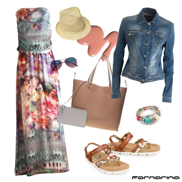 Fornarina styling tips #fornarina #myFornarina #stylingtips #lookidea #fashion #chicbohemien #summer #floralprint #flowerpower