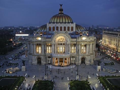 Mexico City, Palacio De Bellas Artes Is the Premier Opera House of Mexico City, Mexico
