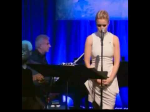▶ Kristen Bell Frozen Do You Want to Build a Snowman Live in all 3 ages- YouTube