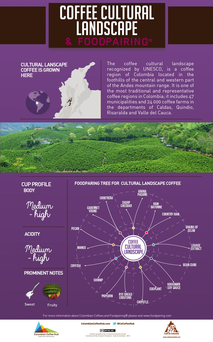 How about a little foodpairing Cultural Landscape coffee inspiration? Visit www.colombiancoffeehub.com for more info.